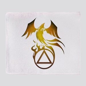 A.A. Logo Phoenix - Throw Blanket