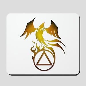 A.A. Logo Phoenix - Mousepad