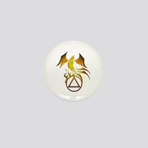 A.A. Logo Phoenix - Mini Button