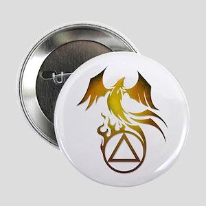"""A.A. Logo Phoenix - 2.25"""" Button"""