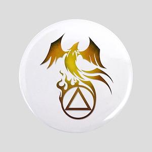 """A.A. Logo Phoenix - 3.5"""" Button"""