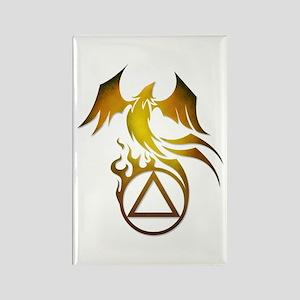 A.A. Logo Phoenix - Rectangle Magnet
