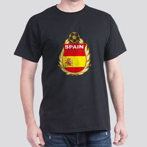 Spain World Cup Soccer Dark T-Shirt