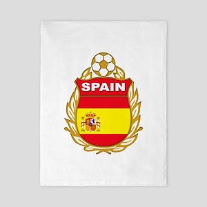 Spain World Cup Soccer Twin Duvet