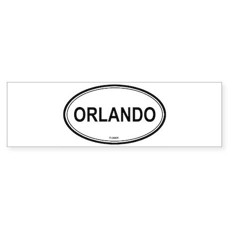 Orlando (Florida) Bumper Sticker