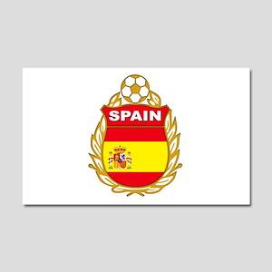 Spain World Cup Soccer Car Magnet 20 x 12