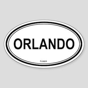 Orlando (Florida) Oval Sticker
