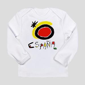 Spain World Cup Soccer Long Sleeve Infant T-Shirt