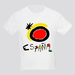 Spain World Cup Soccer Kids Light T-Shirt