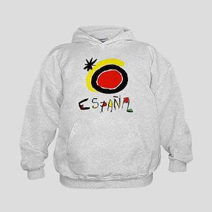 Spain World Cup Soccer Kids Hoodie