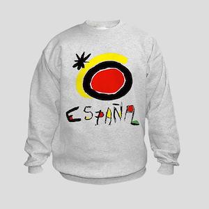 Spain World Cup Soccer Kids Sweatshirt