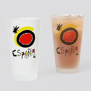 Spain World Cup Soccer Drinking Glass