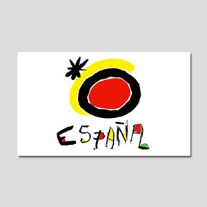 Spain World Cup Soccer Car Magnet 20 x 12