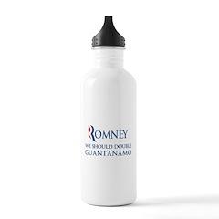 Anti-Romney: Guantanamo Stainless Water Bottle 1.0