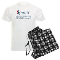 Anti-Romney: Guantanamo Men's Light Pajamas