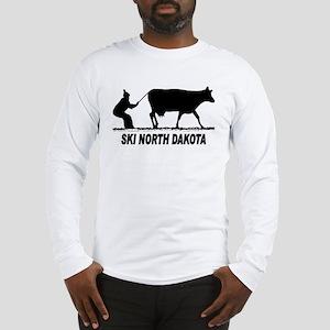 Ski North Dakota Long Sleeve T-Shirt