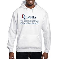 Anti-Romney: Guantanamo Hooded Sweatshirt