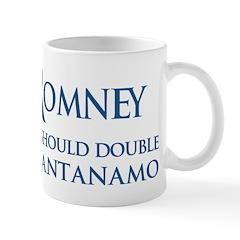 Anti-Romney: Guantanamo Mug