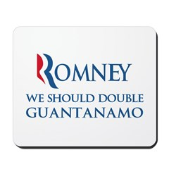 Anti-Romney: Guantanamo Mousepad