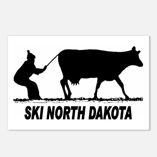 Ski North Dakota Postcards (Package of 8)