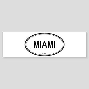 Miami (Florida) Bumper Sticker