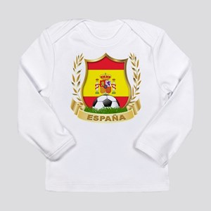 Spain World Cup Soccer Long Sleeve Infant T-Shirt