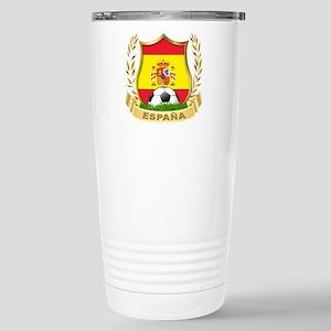 Spain World Cup Soccer Stainless Steel Travel Mug