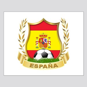 Spain World Cup Soccer Small Poster