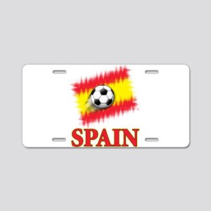 Spain World Cup Soccer Aluminum License Plate