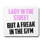Lady in the street Mousepad