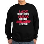 Lady freak beast Sweatshirt (dark)
