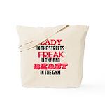 Lady freak beast Tote Bag