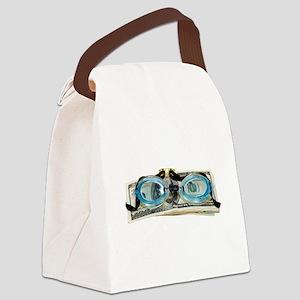 DrowningInDebt091209 Canvas Lunch Bag