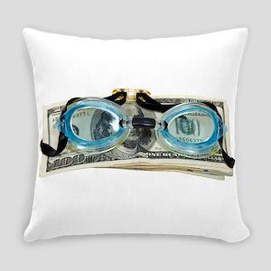 DrowningInDebt091209 Everyday Pillow
