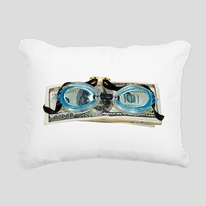 DrowningInDebt091209 Rectangular Canvas Pillow