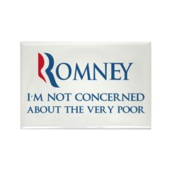 Anti-Romney: Very Poor Rectangle Magnet