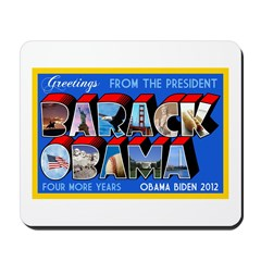 Greetings from the President Mousepad