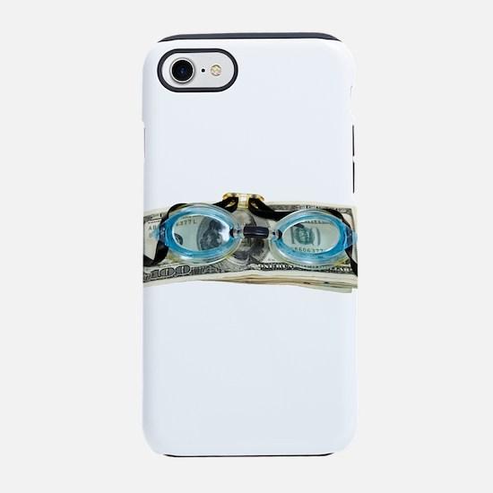 DrowningInDebt091209.png iPhone 7 Tough Case