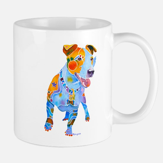 Jack Russell Terrier Many Colors Mug