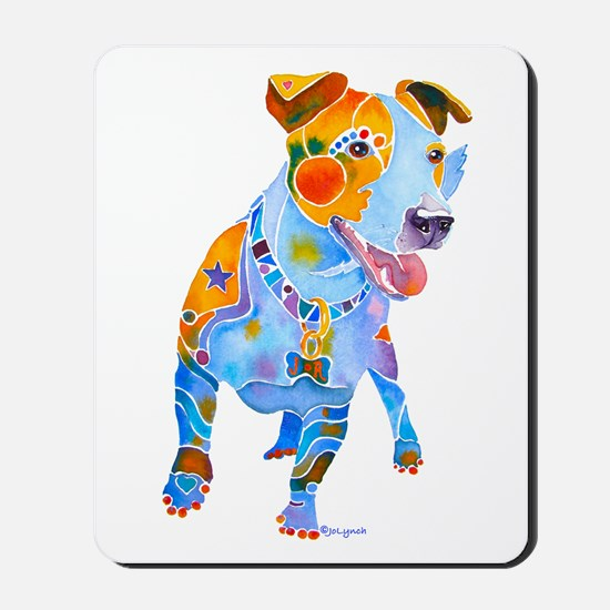 Jack Russell Terrier Many Colors Mousepad