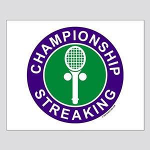 Championship Streaking Small Poster