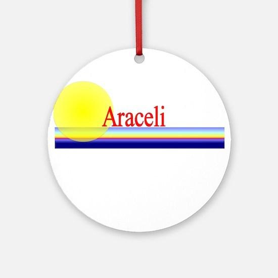 Araceli Ornament (Round)