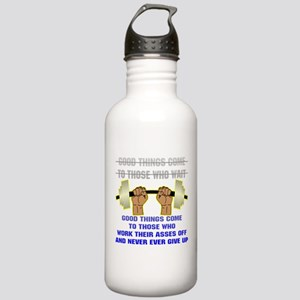 Good Things Come Stainless Water Bottle 1.0L