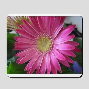 Pink Daisy Princess Mousepad