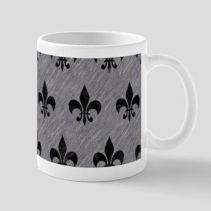 ROYAL1 BLACK MARBLE & GRAY COLOR 11 oz Ceramic Mug