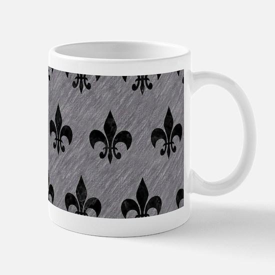 ROYAL1 BLACK MARBLE & GRAY COLOR Mug