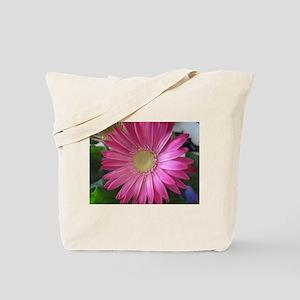Pink Daisy Princess Tote Bag
