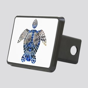 Sea Turtle Peace Rectangular Hitch Cover