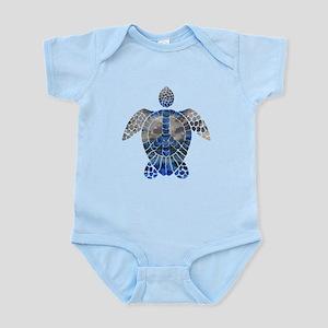 Sea Turtle Peace Infant Bodysuit