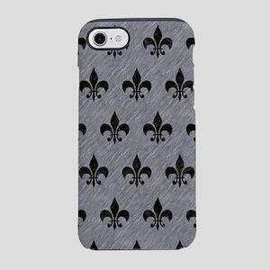 ROYAL1 BLACK MARBLE & GRAY COL iPhone 7 Tough Case